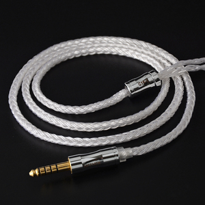 Image 1 - 2019 NICEHCK C16 1 16 Cores Silver Plated Cable 3.5/2.5/4.4mm Plug MMCX/2Pin/QDC/NX7 For TFZ KZCCA ZSX C12 NICEHCK NX7 PRO BL 03