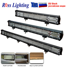 Led-Bar Combo Offroad Boat Truck Tractor Suv 4x4 24V 12V for Car Led-Work-Light 4-Row