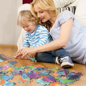Image 4 - MiDeer 104pcs חידות לילדים פאזל צעצוע תינוק של רוחני פאזל שילוב נייר פאזל לילדים מתנות תיבת 3 6Y