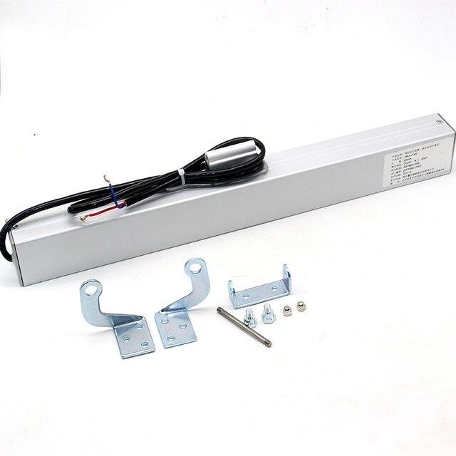 Motor bonde conduzido chain do abridor de janela do obturador do abridor 24vdc com comprimento do curso de 300mm 400mm 500mm 600mm 700mm