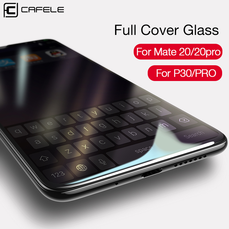 CAFELE Screen <font><b>Protector</b></font> for <font><b>Huawei</b></font> P40 <font><b>P30</b></font> <font><b>Pro</b></font> HD Clear Tempered <font><b>Glass</b></font> 3D Curved Edge Full Coverage Film for <font><b>P30</b></font> P40 <font><b>Pro</b></font> image