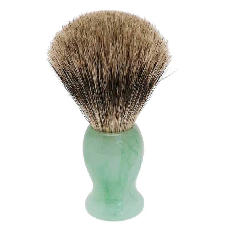 Two Band Fine Badger Hair Shaving Brush Of Resin Handle Perfect For Wet Shave Cream Beard Brush