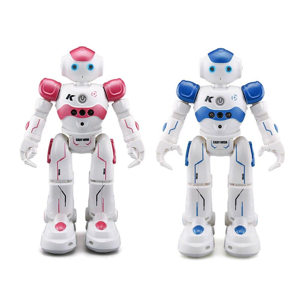 R2 USB Charging Dancing Gesture Control RC Robot Toy Intelligent Program for Children Kids Birthday Gift