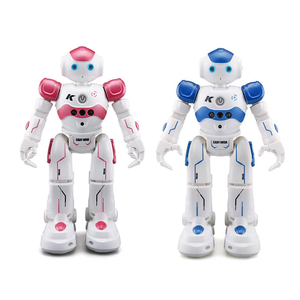 R2 USB Charging Dancing Gesture Control RC Robot Toy Intelligent Program for Children Kids Birthday Gift