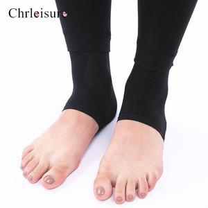Image 5 - Large Size Womens High Waist Thick Velvet Legging 2019 Winter Warm Leggings Solid Push Up Leggings Women