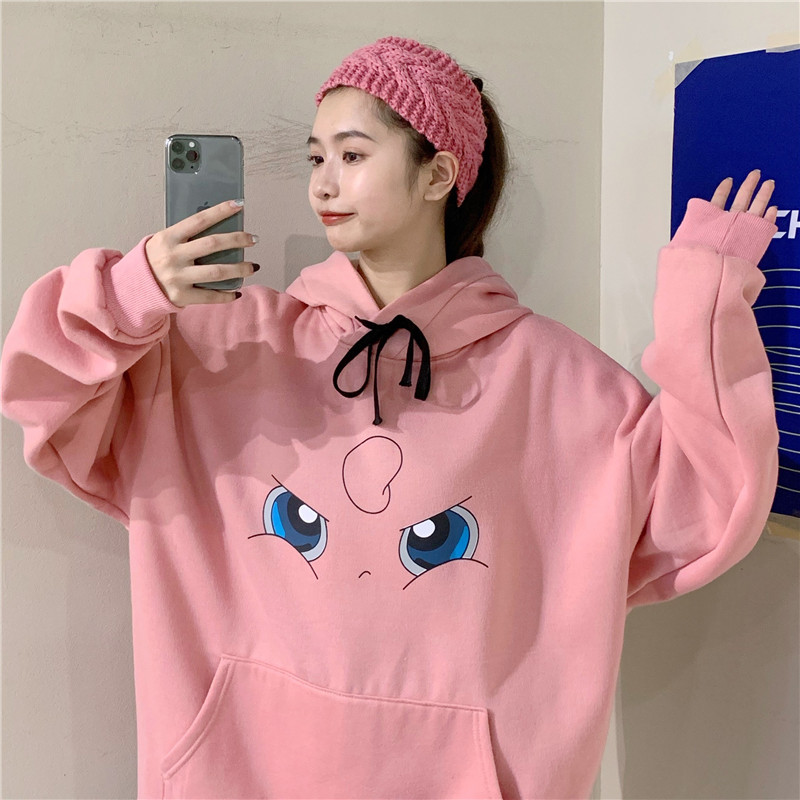 H06170abb90ee451db71ea61dd3fd6cdaR - Amine Pokemon Hoodies Women Hip Hop Sweatshirt Girls Harajuku Long Sleeve Japan Hoodie Streetwear Cute Cartoon Hoodie Men Womens