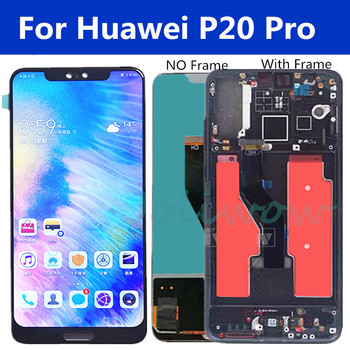 New P20 Pro LCD For Huawei P20 Pro Lcd Display Touch Screen Digitizer Assembly For Huawei P20 Plus lcd CLT-AL01 CLT-L29