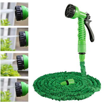 Multi-functional Expandable Nozzle with Hose Spray Gun