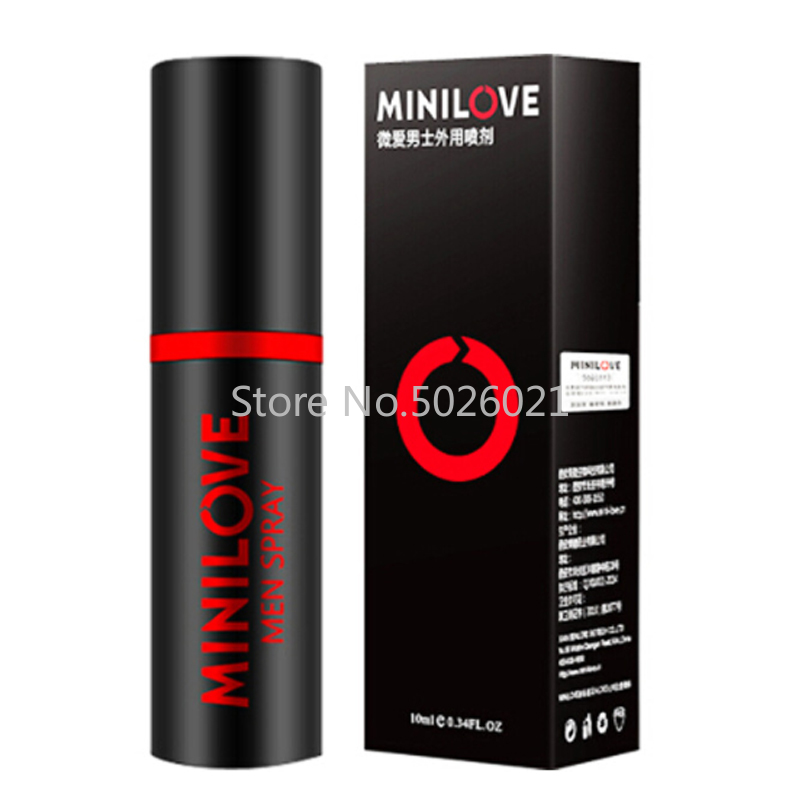 MINILOVE Viagra Poweful Sex Delay Products Better Than PEINEILI Male Sex Spray for Penis Men Prevent Premature Ejaculation
