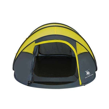 HLY Large throw tent!outdoor 3-4persons automatic speed open throwing pop up windproof waterproof beach camping tent large space 6