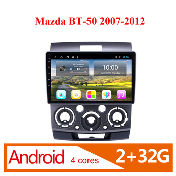 Eastereggs 2 din Android wifi GPS Navigation Car Radio Multimedia Player For Ford Everest Ranger for mazda bt-50 2007-2011 image