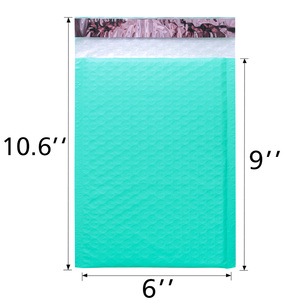 Image 2 - Speedy Mailers 50PCS Teal Green Poly Bubble Mailers Padded Envelopes Self Sealing Envelope Bubble Envelope Shipping Envelopes