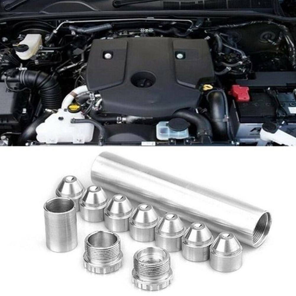 Aluminum Alloy 1//2-28 or 5//8-24 Car Fuel Filter Trap//Solvent Filter 1X7 or 1X13 Car Solvent Trap for NAPA 4003 WIX 24003