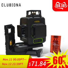 Clubiona Laser-Level BATTERY Separately 3d-Lines Horizontal Work with 5200 Mah And And