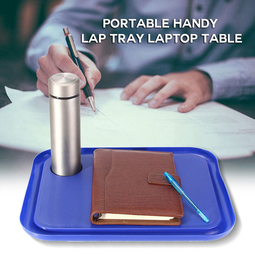 Portable 42 X 33cm Handy Lap Tray Laptop Table Outdoor Learning Desk Lazy Tables New Laptop Stand Holder For Bed For Notebook