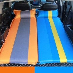 Image 2 - חדש אוטומטי מתנפח מיטת מכונית Hatchback נסיעות מיטת אוויר מזרן מכסה שאר עבור איביזה פולקסווגן גולף 4 פורד פיאסטה פוקוס 2 אופל אסטרה