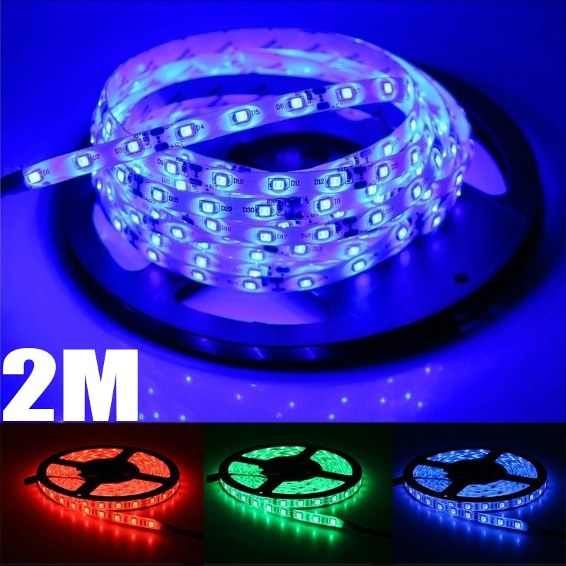 H0618d5a0f46c4937b01173202448e1fd1 - 2M LED Strip 3528SMD Tape Ribbon Light 12V Fita Diode Flexible LED String Stripe Bar Neon LED Lamp for TV Backlight