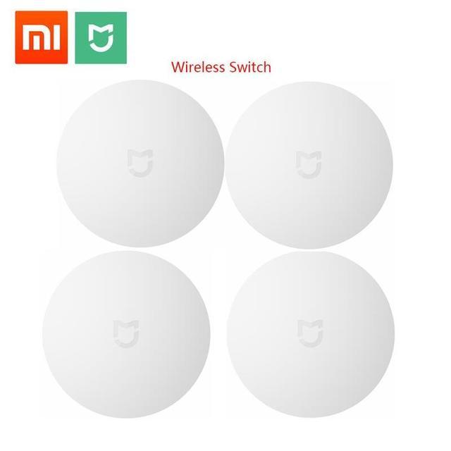 Xiaomi commutateur sans fil Intelligent pour xiaomi maison intelligente maison contrôle Center Intelligent multifonction blanc interrupteur dans la boîte