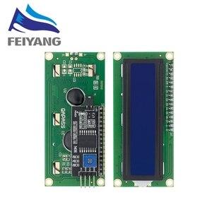 Image 5 - LCD1602 + I2C LCD 1602 وحدة الأزرق/شاشة خضراء PCF8574 IIC/I2C LCD1602 لوحة محول