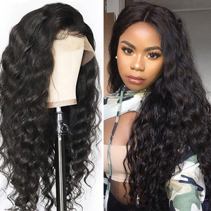 saç peruk Wave Bob Lace Front Curly Human Hair Wigs For Black Women Cosplay Curly Brazilian Loose Wave Perruque Cheveux Humain(China)