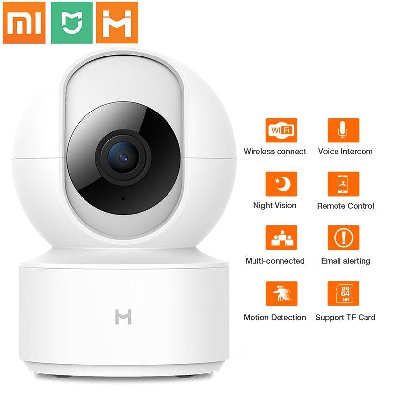 XiaoMi Mijia 1080P PTZ HD caméra IP sans fil nuage Wifi caméra bidirectionnelle Audio intelligent suivi automatique Surveillance de sécurité à domicile humaine