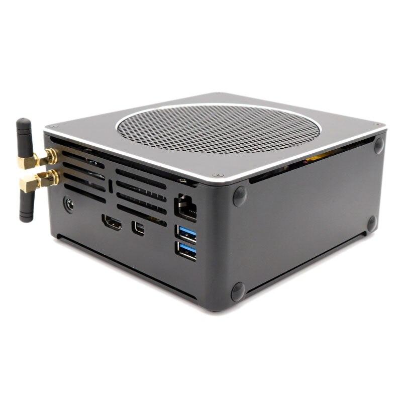 EGLOBAL Gaming Computer Intel I9 8950HKHexa Core Win10 DDR4 Intel UHD Graphics 630  Mini Desktop PC Win10 Pro AC WiFi