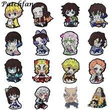A4243 patchwork fan bricolage Anime Badges broderie Patch Applique repassage vêtements couture fournitures patchs décoratifs
