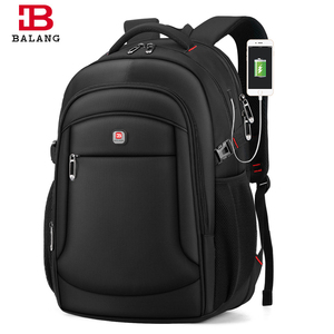 BALANG męska torba podróżna plecaki na laptopa komputerowe męskie na 14-17 Cal plecak szkolny o dużej pojemności dla kobiet mężczyzn wodoodporny