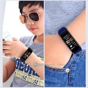 Image 2 - ファッションスマート腕時計の子供の子供スマートウォッチガールズボーイズ電子スマート時計子スポーツスマート腕時計高齢者6 18年