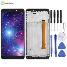 หน้าจอ LCD และ Digitizer Full ASSEMBLY สำหรับ Ulefone P6000 PLUS (สีดำ)
