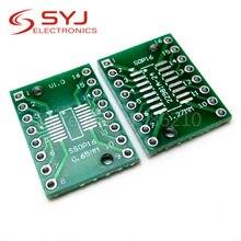 10 pçs/lote TSSOP16 SSOP16 SOP16 para DIP16 Transferência Board Pin DIP Placa Adaptadora Passo PCB Em Estoque
