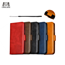 CHNCASE Smooth Magnetic Leather Phone Case For iPhone X XSMAX XR 5 5s SE 6 6s 7 8 Plus 11 Pro Flip Wallet Cover Cases