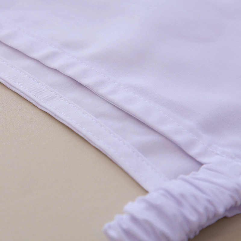 แฟชั่นปลอกคอที่ถอดออกได้เด็ก Unginned ผ้าฝ้ายเสื้อเด็กตะกั่วสีทึบปลอมปลอมขนาดเล็ก Dickie Novelty