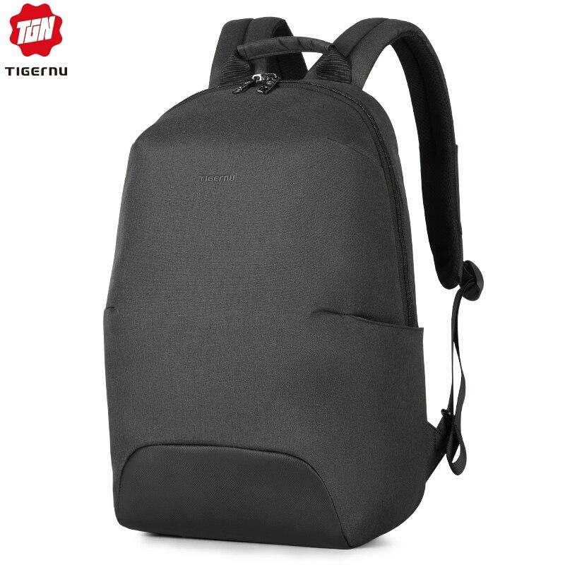 Tigernu 2020 New Design RFID Man Backpack Fit 15.6 Inch Laptop Backpack Schoolbag Splash Proof Male Bag Anti Thief Mochila