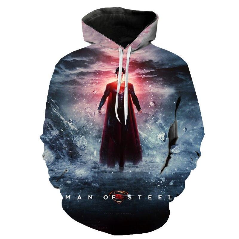 2020 Marvel Super Hero Men Women Children Hoodies Superman Sweatshirts Streetwear Pullovers Cool Tops Casual Sudaderas Clothing