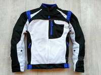 Summer Mesh Jackets Moto Racing Off Road Windproof Breathable Clothing For YAMAHA With 5pcs Protectors