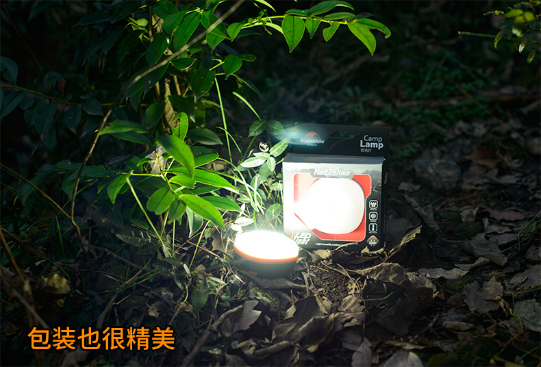 led ímã acampamento luz multi-funcional luzes de
