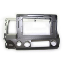 HACTIVOL 2 Din Car Radio face plate Frame for HONDA CIVIC 2006-2011 Car DVD GPS player panel dash mount kit car accessories hactivol 2 din car radio face plate frame for chevrolet lova captiva aveo epica 2006 2011 car dvd player panel dash mount kit