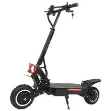 FLJ Leistungsstarke Elektrische Roller 60V 5600W 11 zoll Off Straße Große Rad schnelle ladung Motor e roller kick faltbare erwachsene Roller