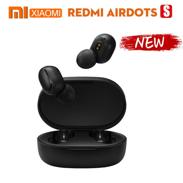 In stock Xiaomi Redmi AirDots S Left=Right Low Lag Mode Mi Redmi AirDots 2 TWS Bluetooth Earphone BT5 True Wireless support Siri