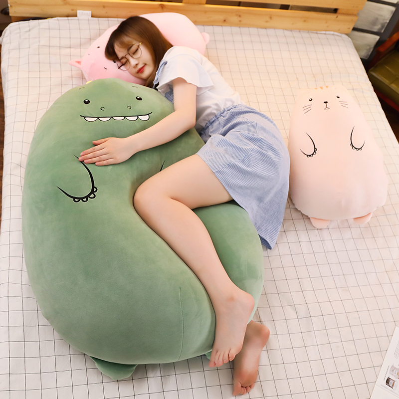 Plush-Sleeping-Pillows Stuffed Doll Dinosaur Teddy Gift Bear-Sheep Girls 50cm-Animals