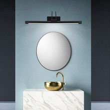 Mirror Light  Modern Led Wall Lamp 8W AC90-260V Wall Mounted Industrial Wall Lamp Bathroom Light Waterproof Stainless Steel artpad black rotatable bathroom wall lamp 8w 41cm modern mirror light ac 110 260v wall mounted indoor sconces lighting fixture