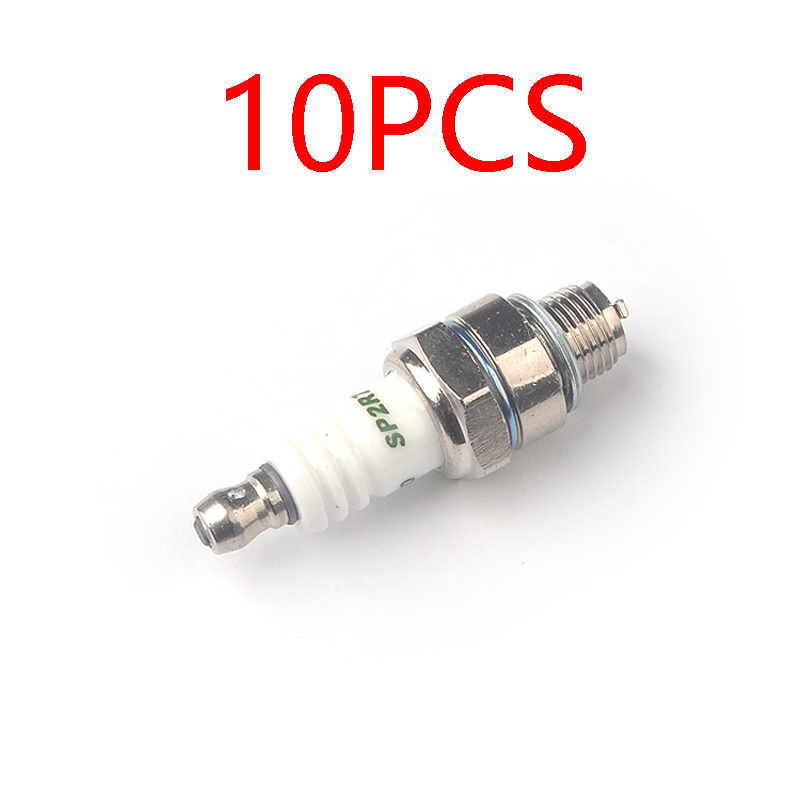 10PCS CRRCPRO SP2R7 Spark Plug CMR7H RZ7C Built-in Resistance Eliminates Interference High Quality Power Iridium For FPV Drone