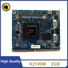 Originele K2100 K2100M 2Gb N15P-Q3-A1 DDR5 Vga Video Graphics Card Voor Hp Elitebook 8570W 8770W 8560W zbook 15 Zbook 17 Snel Schip