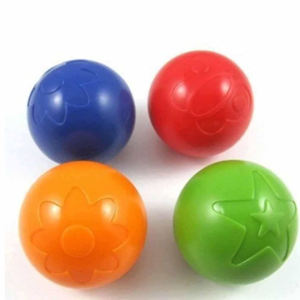 Baby Jump Grab Bell Speelgoed Rammelaars Hand Geritsel Stuiterende Grip Ball Kids Educatief Speelgoed Plastic Bal Cadeau Voor Kinderen