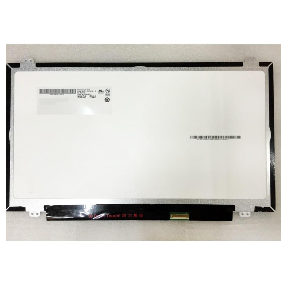 """Laptop WXGA HD 15.6/"""" for LTN156AT35-H01 Slim LED LCD Screen Display 40 pin"""