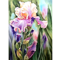 100% Hand Painted Abstract Flowers Art Oil Painting On Canvas Wall Art Wall Adornment Picture Painting For Live Room Home Decor