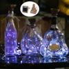 Verre vin LED chaîne lumière liège en forme de bouteille de vin bouchon lumière lampe de noël fête décoration bouteille bouchon lumière frondeurs