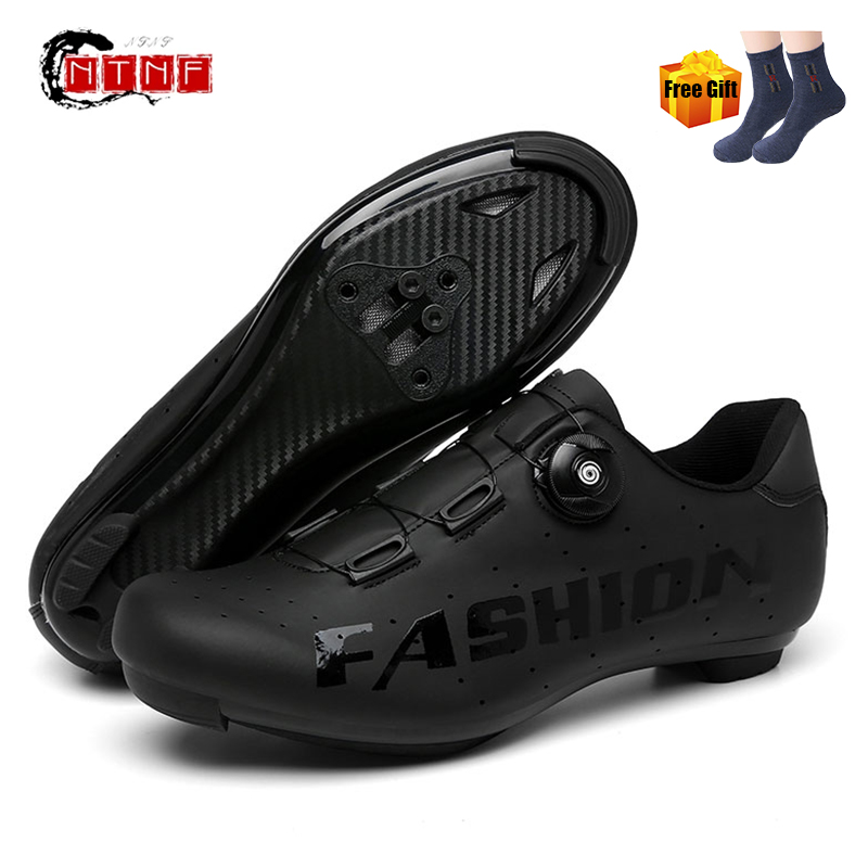 2021 SPD Cycling Shoes Men Road Racing Bicycle Sneakers Cleat Women Bike Sneakers Zapatos Ciclismo Sport Self-locking MTB Bike S