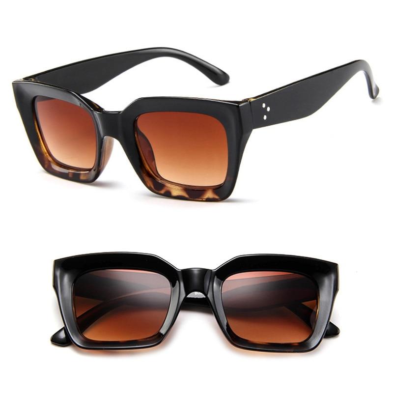 TTLIFE Women Men Square Sunglasses Brand Designer Retro Big Frame Sun Glasses Female 2018 Vintage Glasses Men Shades YJHH0103 in Women 39 s Sunglasses from Apparel Accessories